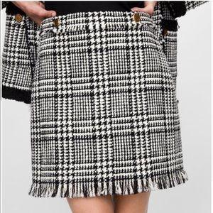 NWT tweed skirt